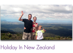 Holiday in New Zealand